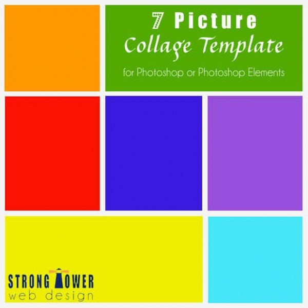 35 photo collage templates free psd vector eps ai indesign with 7 pictures embedded into the mix this template provides added flexibility besides the photoshop empowered images and fonts pronofoot35fo Images