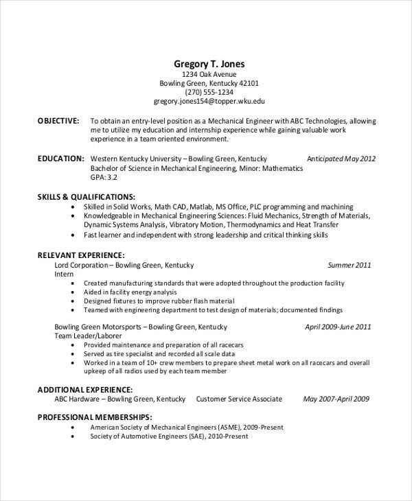 resume objective exles for college students sles of