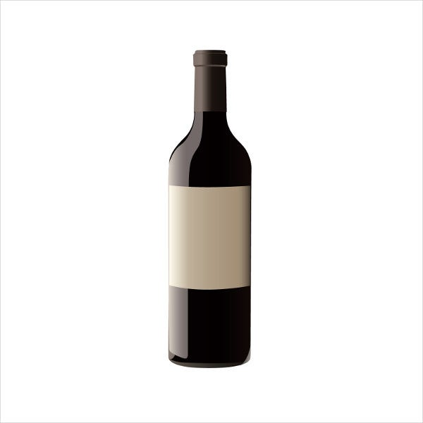 blank wine bottle label