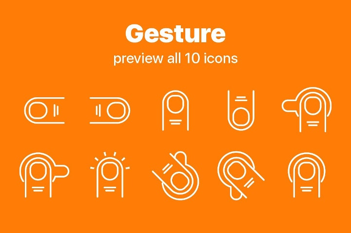 gesture icons1