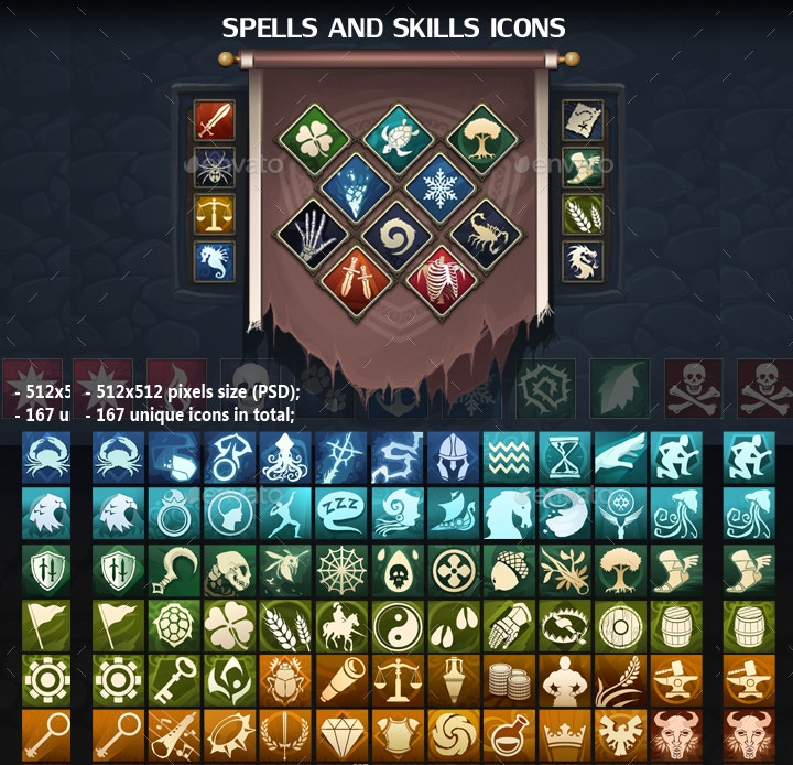 spells and skills icons1