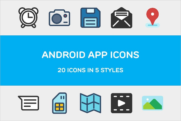 android app icons1