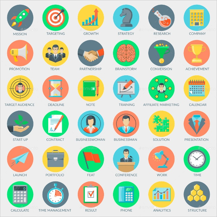 business and marketing icons3