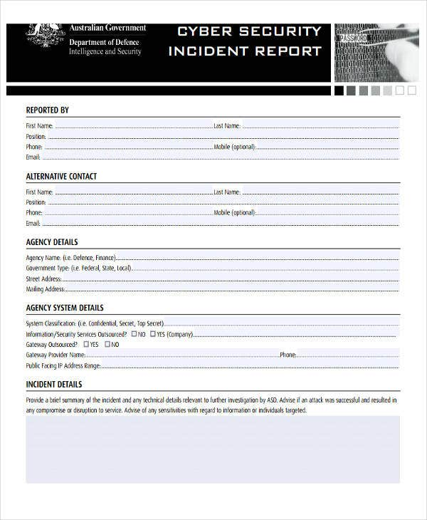 cyber security incident report2