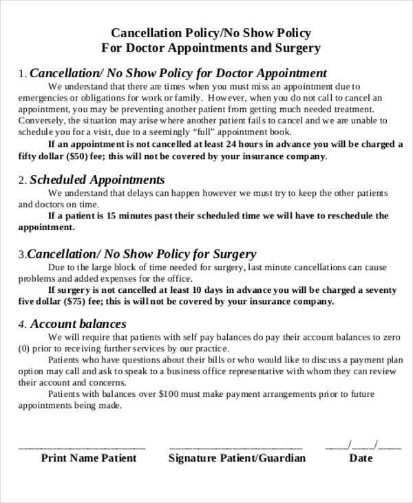 Doctor Appointment Letter Template  Free Samples Examples