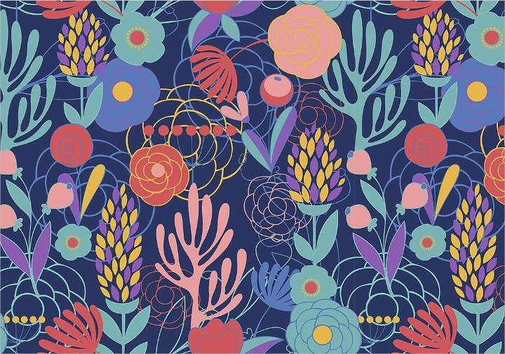 seamless floral pattern1
