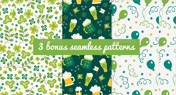 st-patricks-day-theme-seamless-pattern
