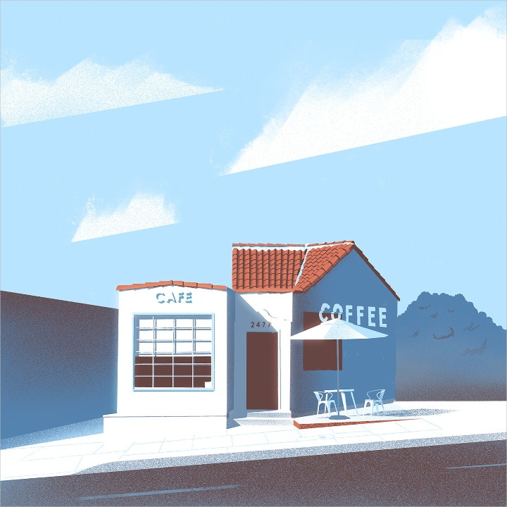 cafe illustration2