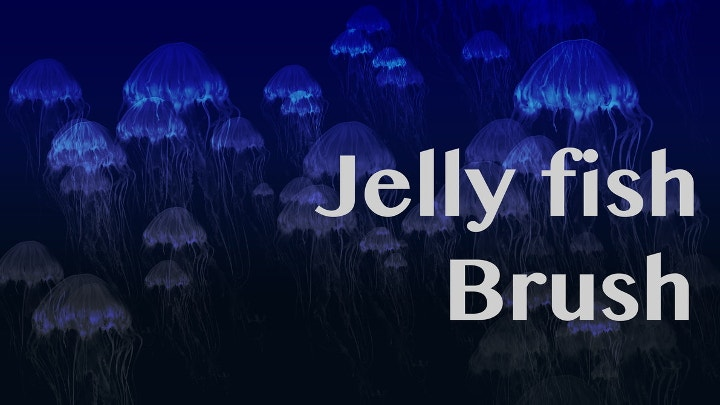 jelly fish photoshop brushes1