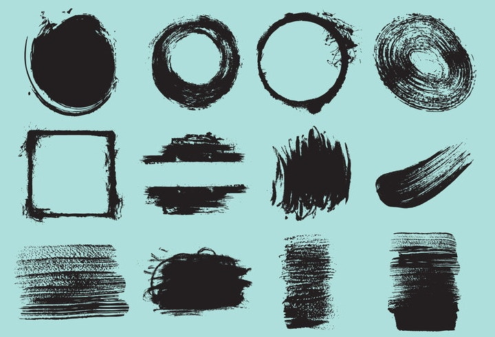 brush-stroke-vectors