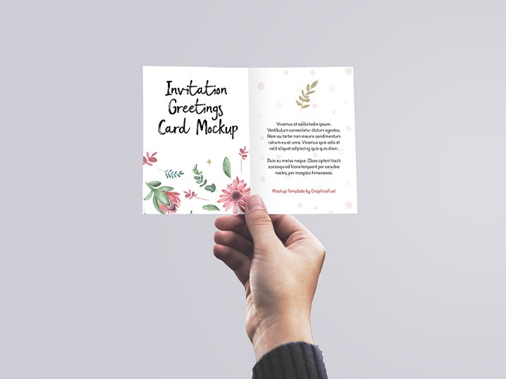 greeting card invitation mockup1