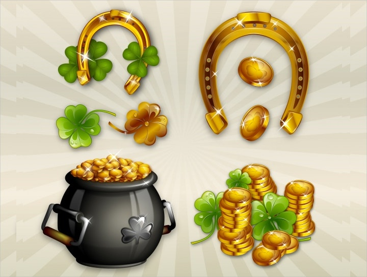 st-patricks-day-elements-vector