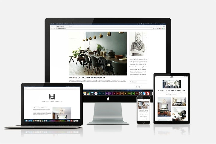 haus love responsive web design
