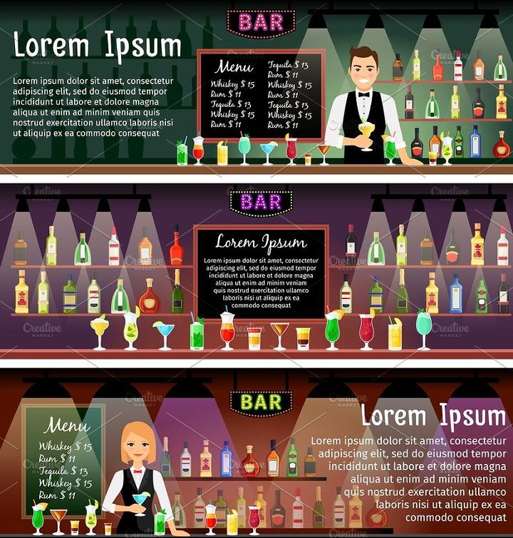 bar-banners