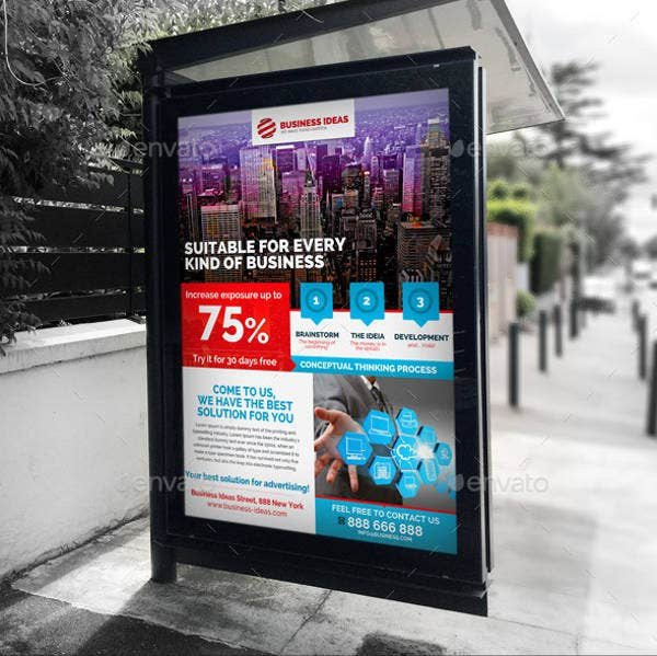 business signage advertising poster
