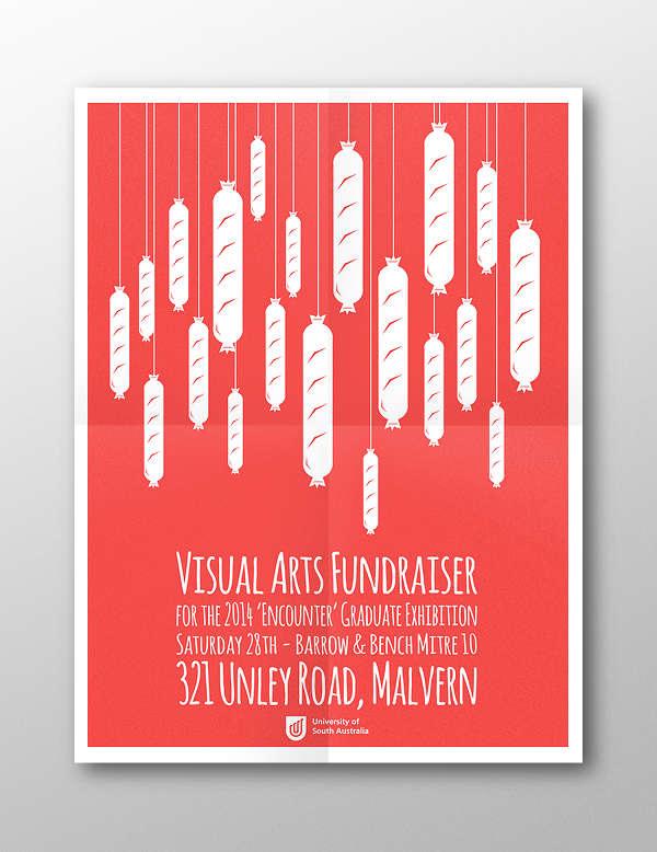bbq-fundraising-advertising-poster