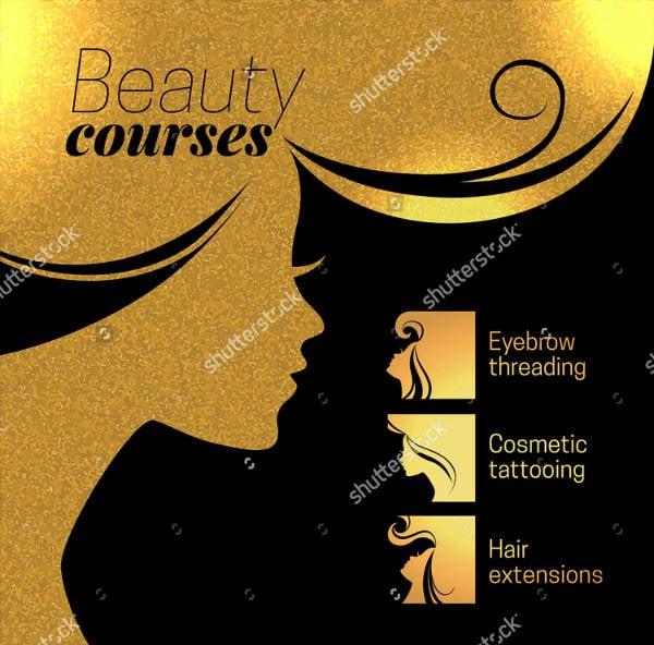 beauty salon advertising poster2