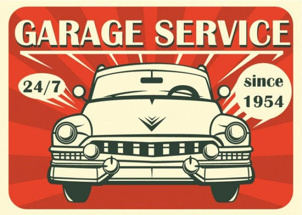 product service advertising poster
