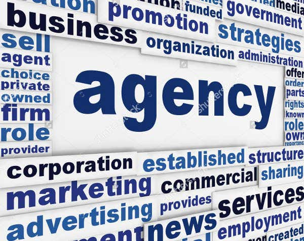 Advertising Employement Agency Poster
