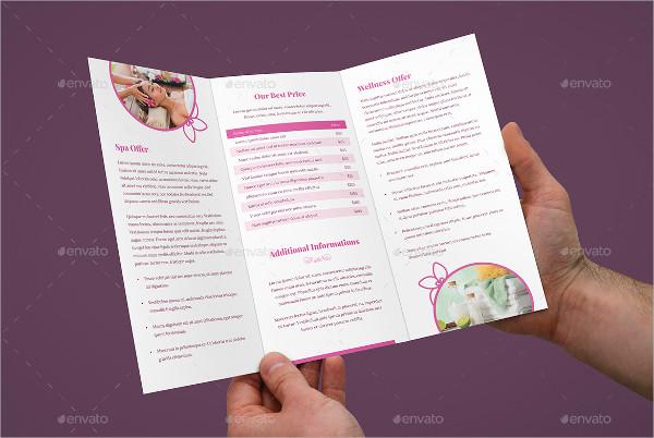 tri fold spa and wellness brochure1