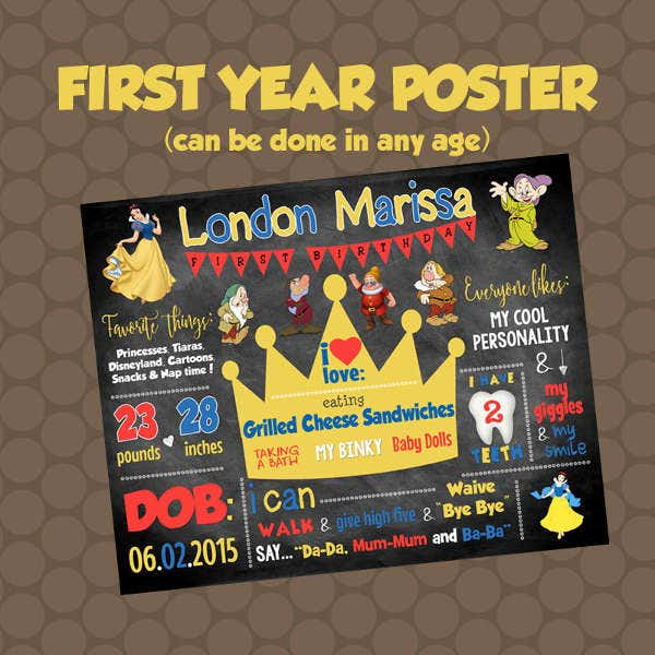 first-year-birthday-poster