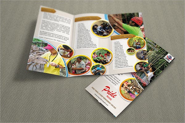 Tri Fold Event Management Brochure