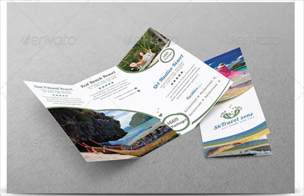 Tri Fold Holiday Rental Brochure