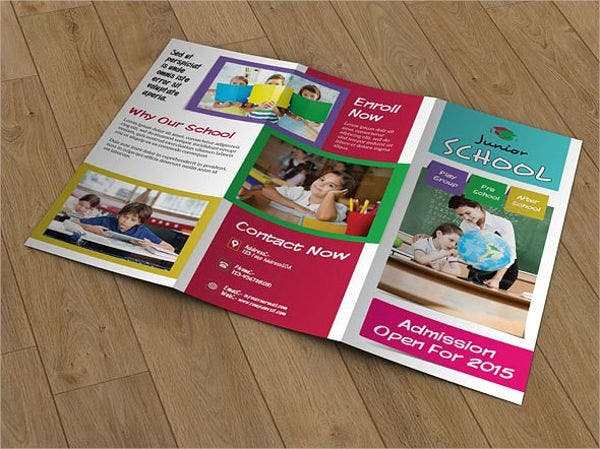 41 tri fold brochure templates free premium templates for Tri fold school brochure template