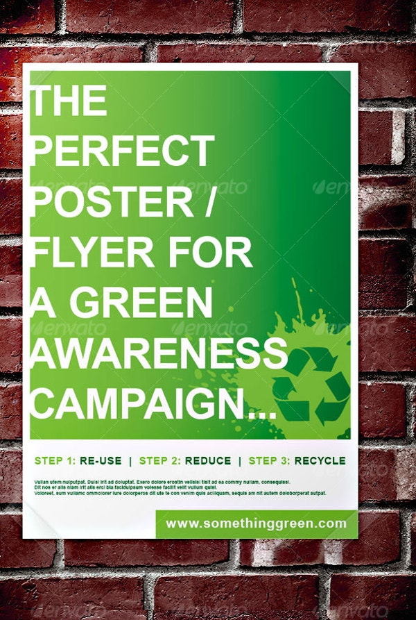green-awareness-campaign-poster