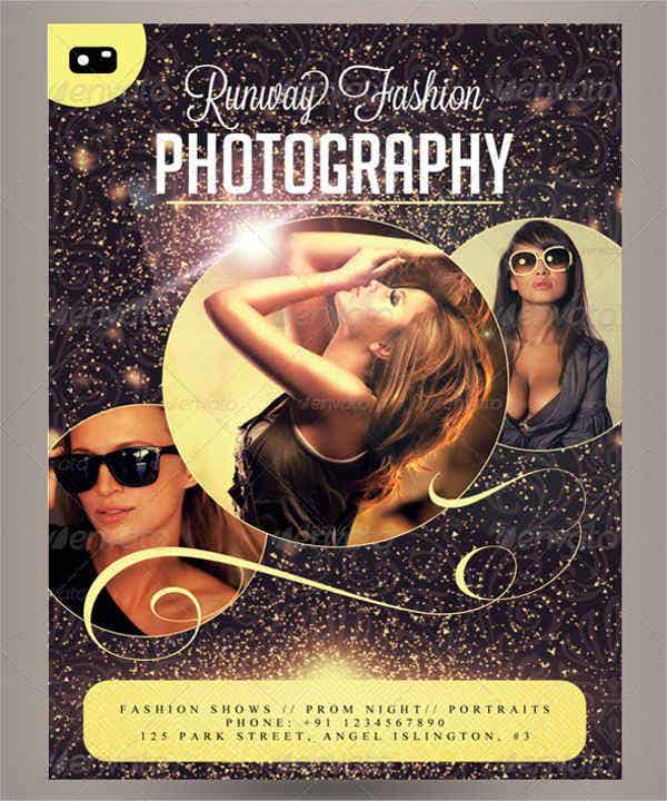 Fashion Photography Advertising Poster