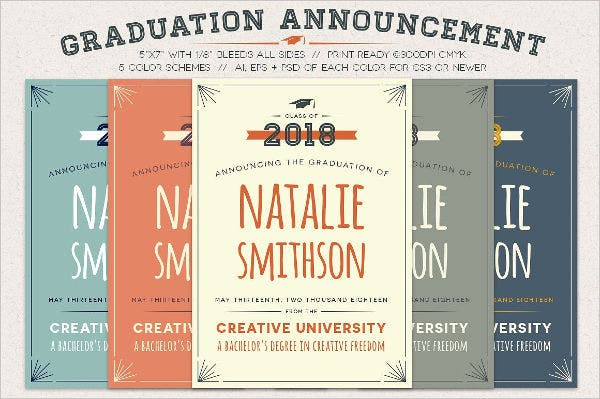 46 sample graduation invitation designs templates psd ai