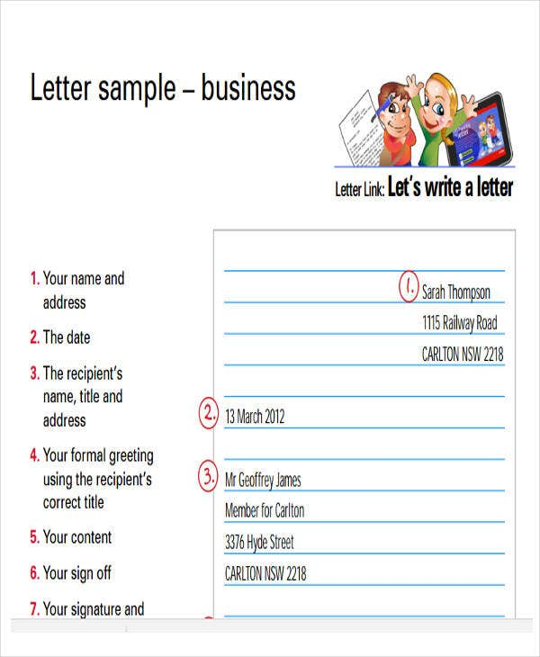 43+ Business Letter Formats | Free & Premium Templates