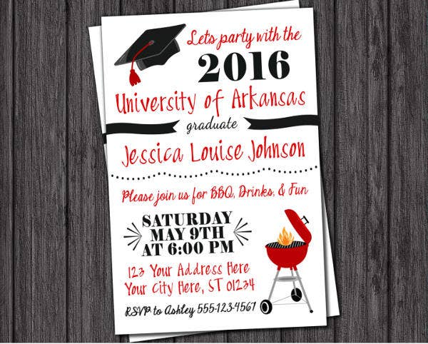 48 graduation invitation designs templates psd ai free