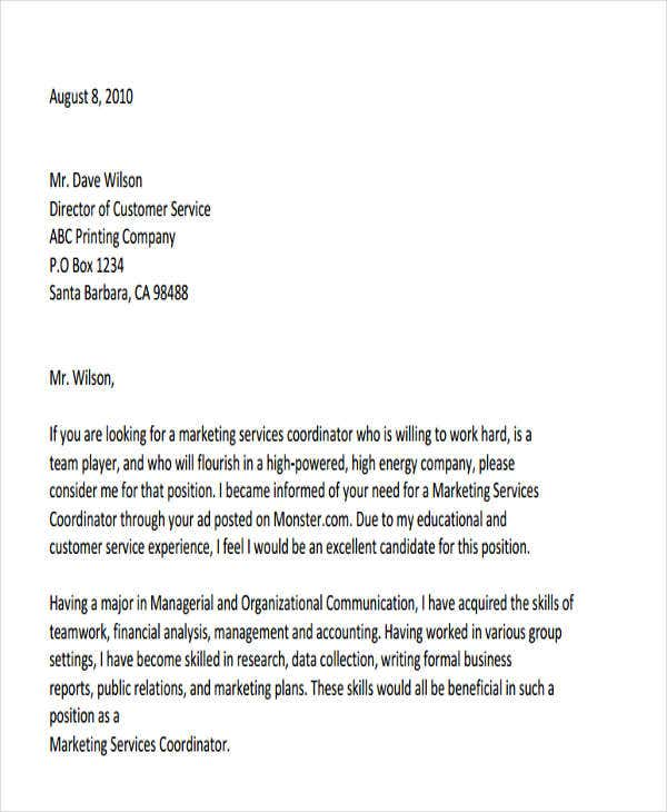 professional business letters templates