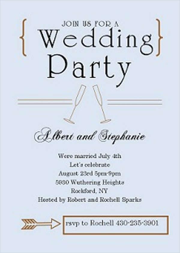 Wedding Invitations In PDF | Free & Premium Templates