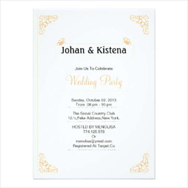 Wedding Invitations In PDF Free Premium Templates