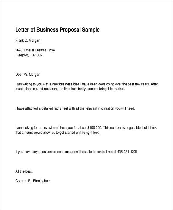 business proposal formal letter2