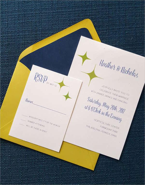 diy paper wedding invitation
