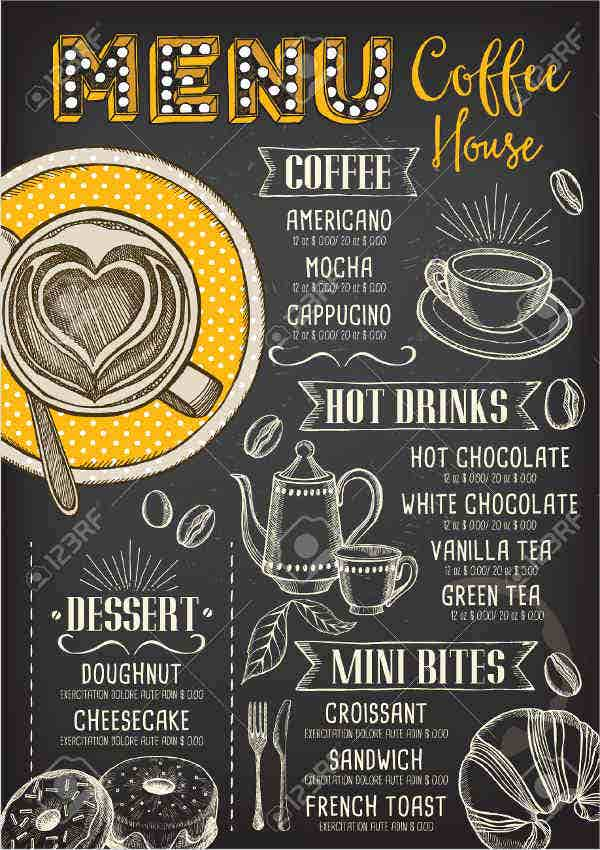tea-party-menu-design