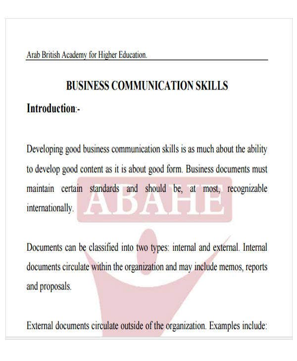 44 business letter format free premium templates business communication letter abahe details file format spiritdancerdesigns Gallery