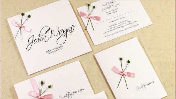 42 Wedding Invitations Templates In Pdf Free Premium