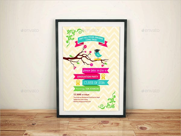 45 Graduation Invitation Designs Free Premium Templates