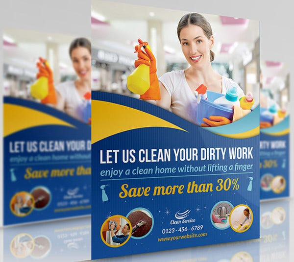 corporate cleaning business flyer1