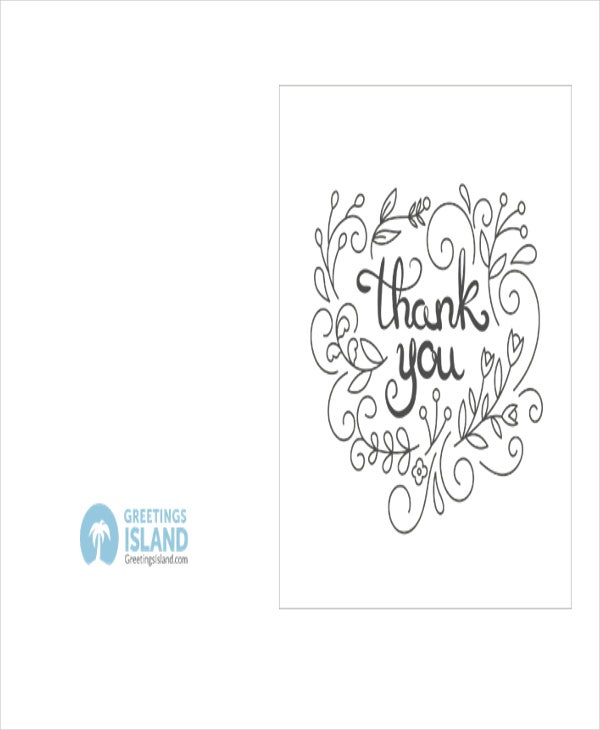 printable thank you note template