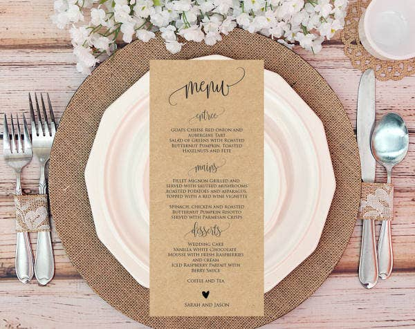 wedding-menu-card