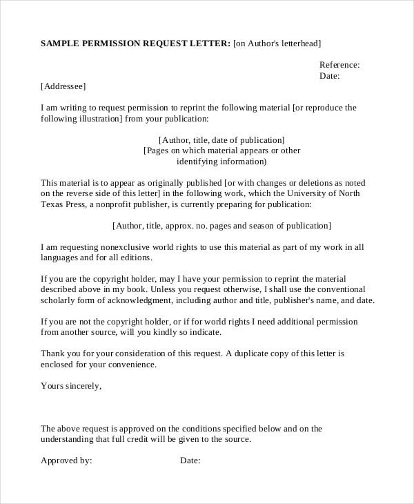 Formal letter sample template 70 free word pdf documents formal permission request letter altavistaventures Image collections