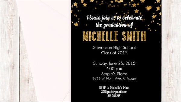 48 Sample Graduation Invitation Designs Templates Psd