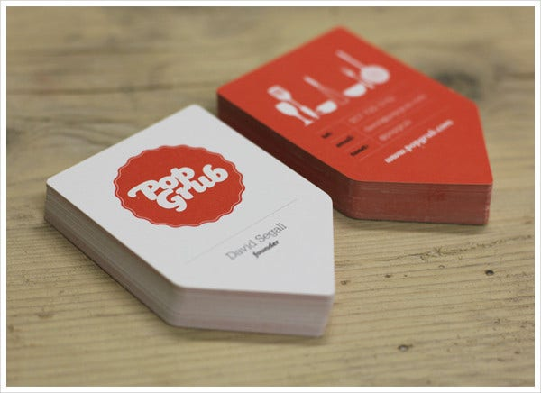 -Creative Business Card