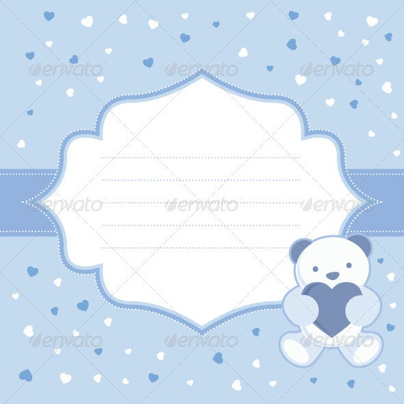 blank greeting card