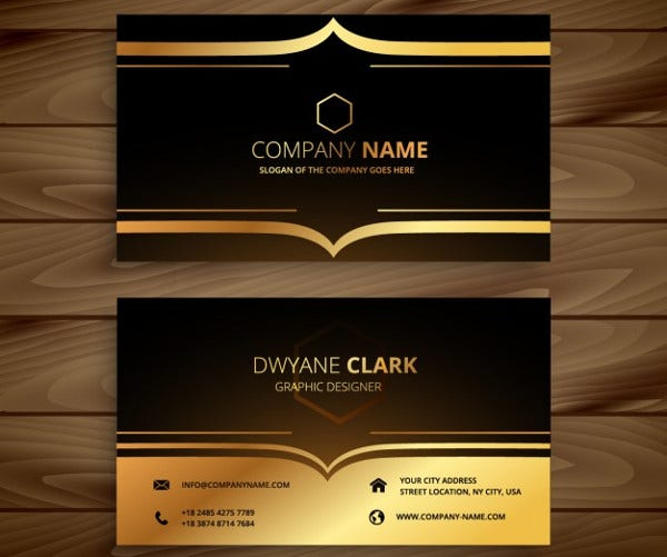 -Luxury Business Card